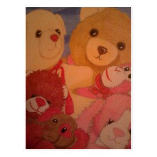 osos de peluche postal