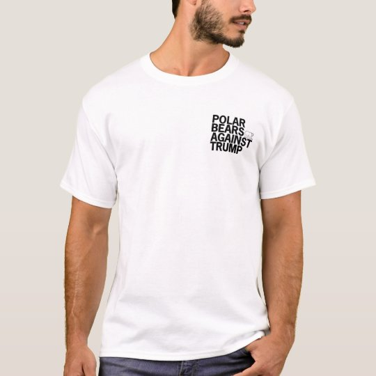 Osos polares contra la camiseta del triunfo