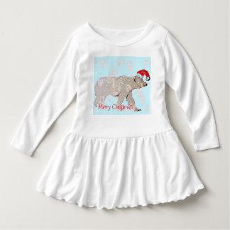 Osos polares de las Felices Navidad Vestido