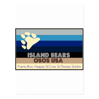 OSOS USA-ISLAND LLEVA LA COLECCIÓN POSTAL