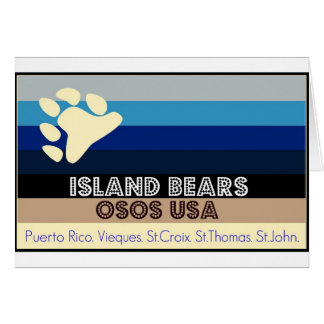 OSOS USA-ISLAND LLEVA LA COLECCIÓN TARJETÓN