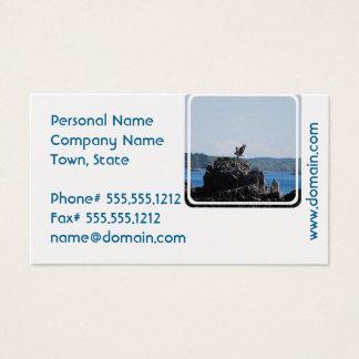 Osprey en jerarquía tarjeta de negocios