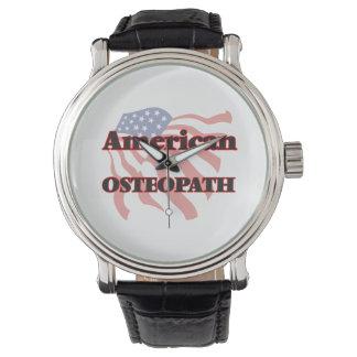 Osteópata americano relojes de pulsera