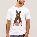 Osterhase_heisseEier Camiseta