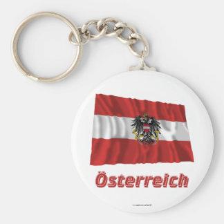 Österreich Fliegende Dienstflagge, nombre del deut Llavero Redondo Tipo Chapa