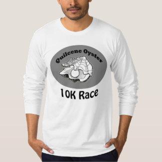 Ostra larga para hombre 10K de Quilcene de la Camiseta
