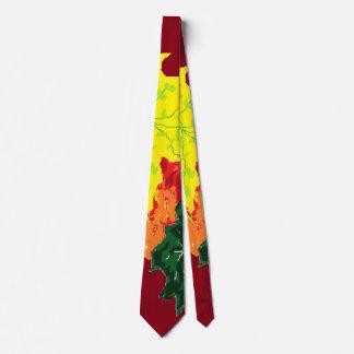 Otoño de las corbatas de los hombres corbatas personalizadas