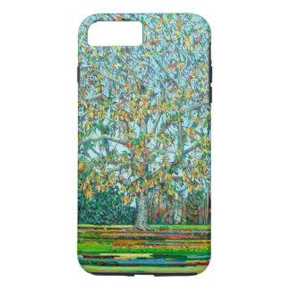 Otoño del árbol del arco funda iPhone 7 plus