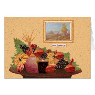 Otoño en América - tarjeta de Rino Li Causi