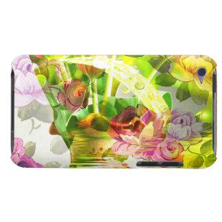 ¡Otra escena hermosa de flores - arte mezclado! Carcasa Para iPod