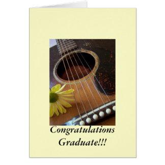 ¡Otro graduado de la enhorabuena!!! Tarjeta De Felicitación