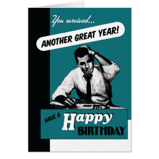 ¡Otro gran año! Tarjeta De Felicitación