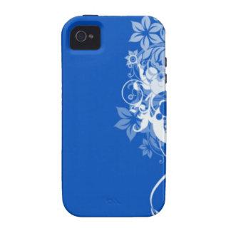 Otro remolino azul iPhone 4/4S carcasas