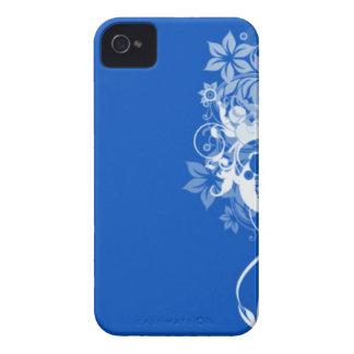 Otro remolino azul Case-Mate iPhone 4 protectores