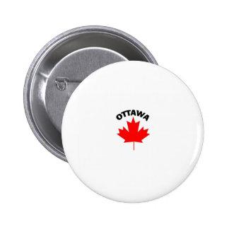 Ottawa, Ontario Chapa Redonda De 5 Cm