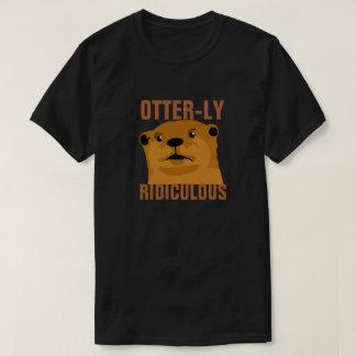 Otterly ridículo camiseta