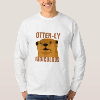 Otterly ridículo camisetas
