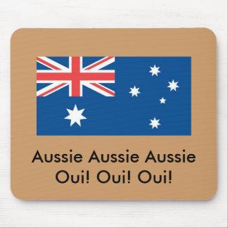 ¡Oui australiano australiano australiano! … Alfombrilla De Ratón
