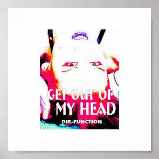 Outamyhead [resolución de escritorio] póster