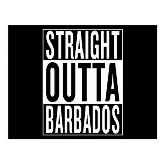 outta recto Barbados Postal