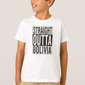 outta recto Bolivia Camiseta