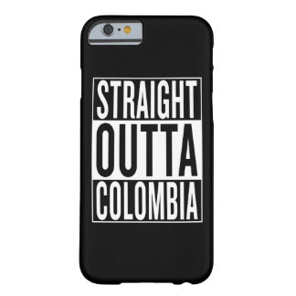outta recto Colombia Funda Barely There iPhone 6