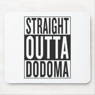 outta recto Dodoma Alfombrilla De Ratón