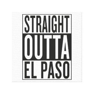 outta recto El Paso Lona Estirada Galerias