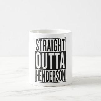 outta recto Henderson Taza De Café