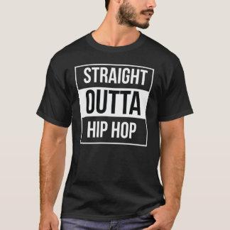 Outta recto Hip Hop Camiseta