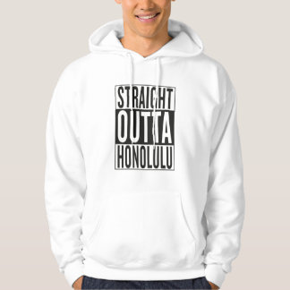 outta recto Honolulu Sudadera