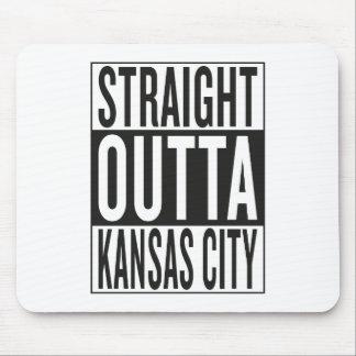 outta recto Kansas City Alfombrilla De Ratón