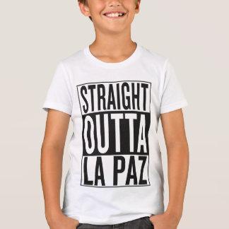 outta recto La Paz Camiseta