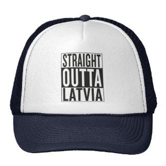 outta recto Letonia Gorros Bordados