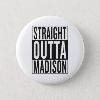 outta recto Madison Chapa Redonda De 5 Cm