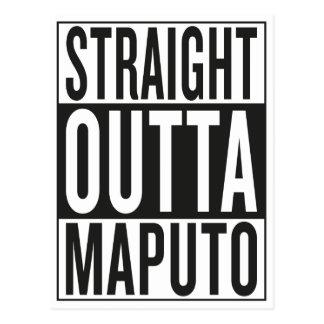 outta recto Maputo Postal