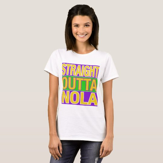 Outta recto NOLA Camiseta