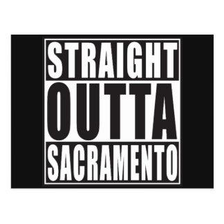 Outta recto Sacramento California Postal
