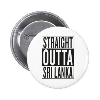 outta recto Sri Lanka Chapa Redonda De 5 Cm