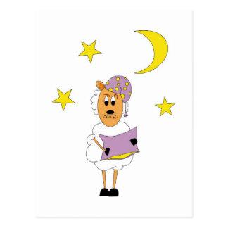 Oveja - Buenas Noches Tarjeta Postal