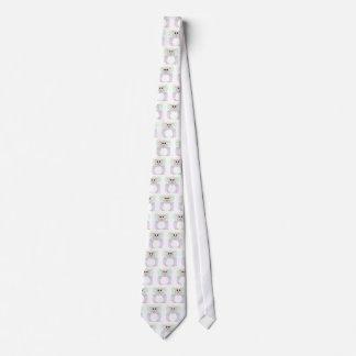 Ovejas blancas de hadas Huggable Corbata Personalizada