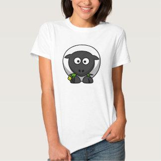 Ovejas del dibujo animado camisetas