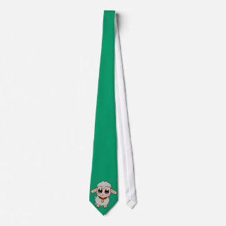 Ovejas lindas corbata personalizada