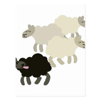 Ovejas negras postal