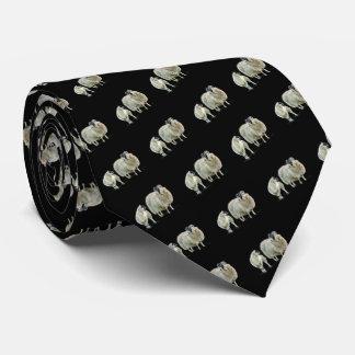 Ovejas pequenitas pintadas del cordero y de la corbata personalizada