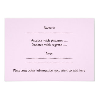 Ovejas rosadas invitación 8,9 x 12,7 cm