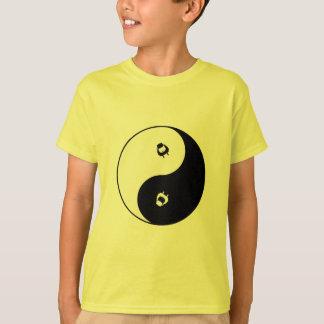 Ovejas Yin Yang Camiseta