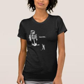 ¡Overlords del robot!!! ¡Ahora usted limpia el Camisetas