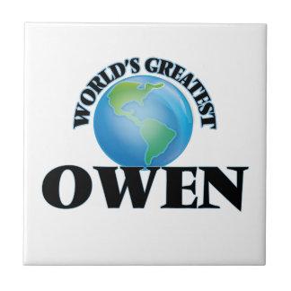 Owen más grande del mundo azulejos cerámicos