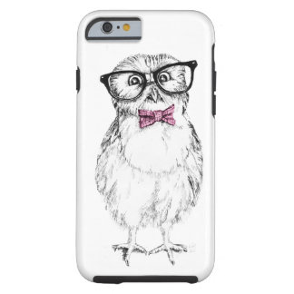 Owlet Nerdy pequeño pero elegante Funda De iPhone 6 Tough
